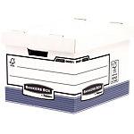 Boîte d'archivage Fellowes System 33,5 x 40,4 x 29,2 cm carton Blanc 10 unités