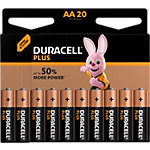 Pile Duracell Plus Power AA 20 unités