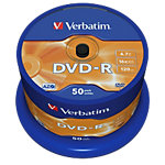 DVD + R Verbatim 16x 4.7 Go OPS Spindle 50 Unités
