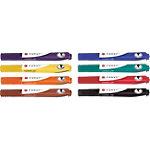 Marqueur pour tableau blanc Foray Cosmic WB Ogive Noir, bleu, rouge, vert, jaune, orange, marron, violet 8 Unités
