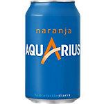 Boisson énergisante AQUARIUS Orange Canette 24 Unités de 330 ml
