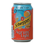Schweppes Agrum light Canette 24 Unités de 330 ml