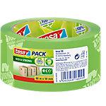 Ruban adhésif d'emballage tesapack Éco ruban imprimé 50 mm x 66 m Vert