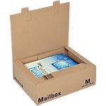 Boîte d'expédition pré pliées ColomPac Mail Box Marron 325 x 240 x 105 mm