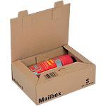 Boîte d'expédition pré pliées ColomPac Mail Box Marron 249 x 175 x 79 mm