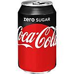 Coca Cola Zero canette 24 unités de 330 ml