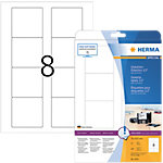 Étiquettes multifonctions HERMA Blanc 70 x 67,7 mm 25 Feuilles