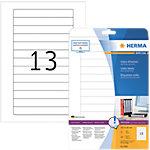 Étiquettes multifonctions HERMA 147,3 x 20 mm 25 Feuilles
