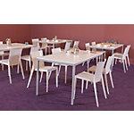 Table de cantine Schaffenburg Domino Basic Assortiment 1200 x 800 x 740 mm