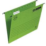 Dossiers suspendus verticaux ELBA Verticflex Ultimate A4 Vert carton manila fond v 25 unités