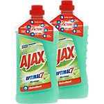 Nettoyant multi usage Ajax Optimal 7 2 Unités de 1 L