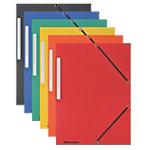 Fardes à 3 rabats Office Depot A4 Assortiment Carte lustrée 24 x 2,5 x 32 cm 10 Unités
