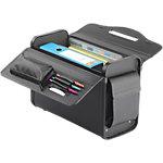 Mallette pour ordinateur portable Falcon FI2345 Similicuir PU Noir45,5 x 20 x 34 cm