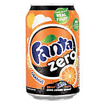 Canettes Fanta Zero Orange 24 x 330 ml
