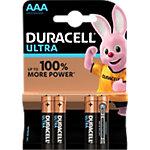 Piles Duracell Ultra Power AAA MX2400 LR03 1,5V Alcaline 4 Unités