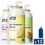 Aérosol désodorisant Tork A1 Assortiment 12 Unités de 75 ml