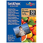 Papier photo Brother BRBP71GP50 Blanc Brillant 190 g