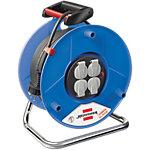 Enrouleur de câble électrique brennenstuhl Garant® 25 m 3 prises