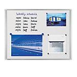 Tableau blanc Legamaster Dynamic émail magnétique 90 x 60 cm