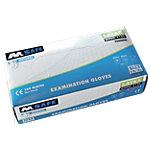 Gants M Safe Powdered latex taille l Transparent 100 unités