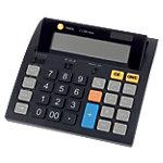 Calculatrice de bureau Triumph Adler J1200 12 chiffres Noir
