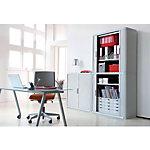 Armoire à portes rideaux Paperflow Easy Office Gris 1.100 x 415 x 2.040 mm
