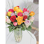 Bouquets de fleurs Bunchmakers Roses Assortiment de couleurs
