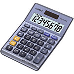 Calculatrice de bureau Casio MS 80VER II 8 chiffres Bleu