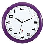 Horloge murale Alba Hornewp 30 x 5,5 cm Violet