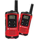 Talkie Walkie Motorola TLKR T40 Noir, rouge