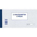 Carnets de reçus ELVE 2231 Blanc A5 10 Unités 10 Unités
