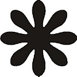 Perforatrice à motif Safetool Fleur Gris