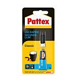 Colle instantanée Pattex Classic Transparent 3 g 3 g