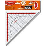 Equerre géométrique Maped 28700 Assortiment 26 cm