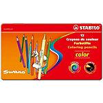 Crayons de couleur STABILO Color 12 Unités