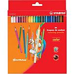 Crayons de couleur STABILO Color 24 unités