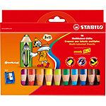 Crayons de couleur STABILO Woody 3 en 1 10