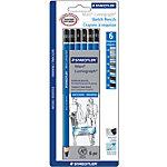 Crayons STAEDTLER Lumograph 6 Unités