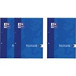 Cahier OXFORD Bloc de cours Bleu