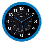 Gloss by CEP Horloge murale 820G 30 x 4,5 cm Bleu, noir
