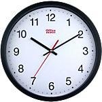 Horloge murale Office Depot RD3330B 31,5 x 5 cm Noir, blanc