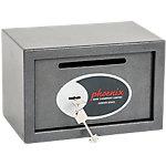 Coffre fort de dépôt Phoenix SS0801KD Serrure à clé Gris 310 x 200 x 200 mm