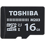 Carte Micro SD Toshiba M203 16 Go