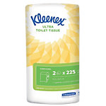 Papier toilette Kleenex Ultra 2 épaisseurs 2 Rouleaux de 225 Feuilles