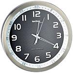 Horloge murale TechnoLine WT8970 30 x 4,2 cm Argenté, noir