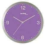 Horloge murale TechnoLine WT9000 30 x 3,3 cm Violet, gris