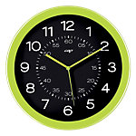 Gloss by CEP Horloge murale 820G 30 x 4,5 cm Vert, noir
