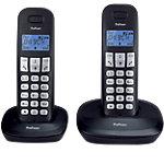 Téléphone sans fil Profoon PDX   1120 Noir