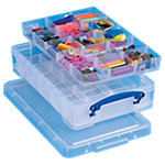 Boîte de rangement Really Useful Boxes 4CDIVHOB 39,5 x 25,5 x 8,5 cm Plastique Transparent