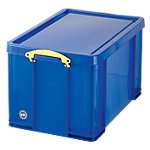 Boîte de rangement Really Useful Boxes Polypropylène Bleu 84 l 440 x 710 x 380 mm